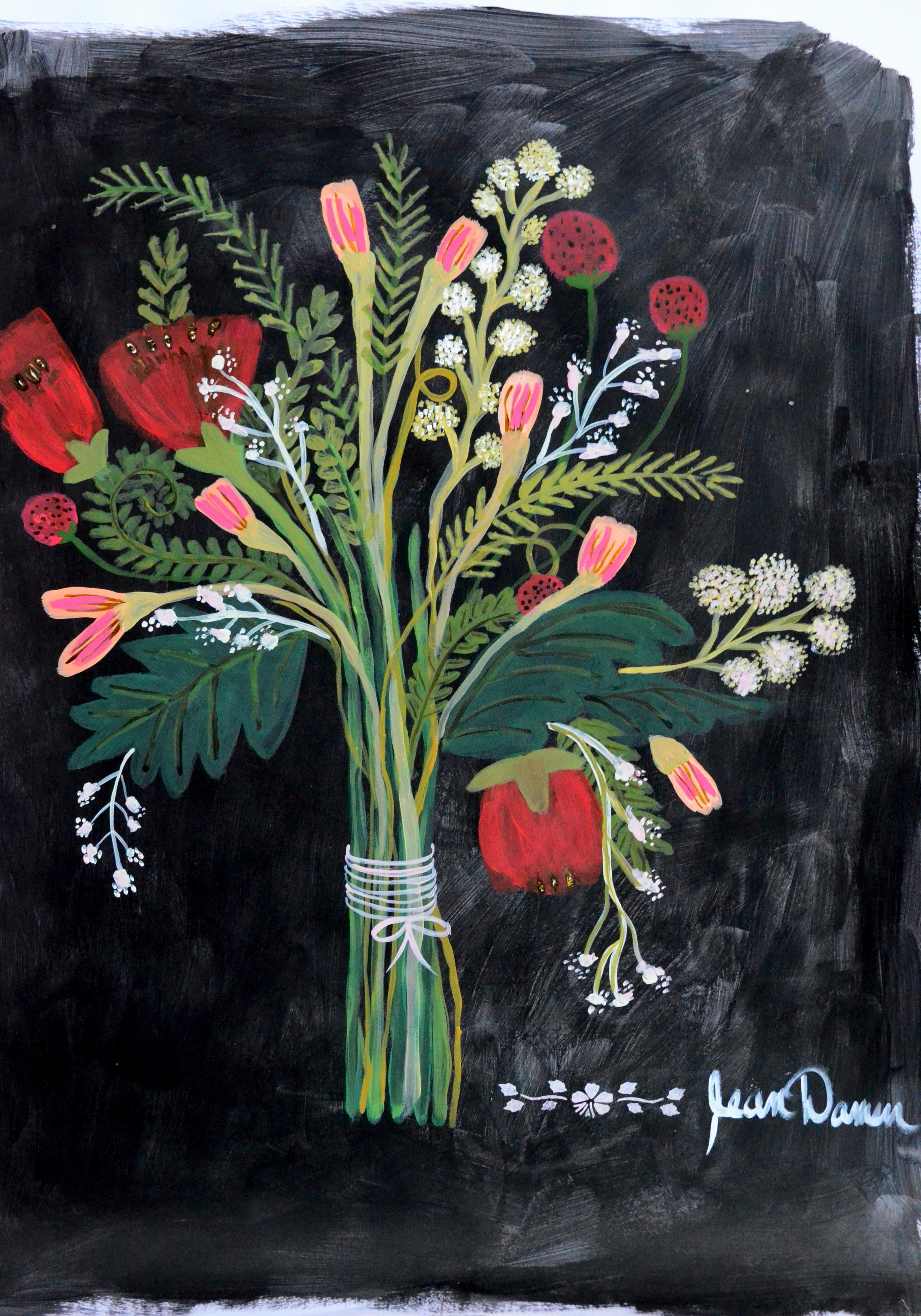 dark flower bunch